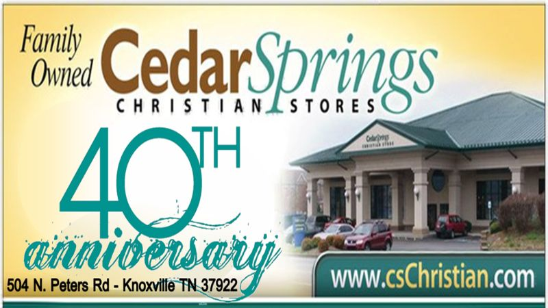 Who is Cedar Springs Christian Stores?